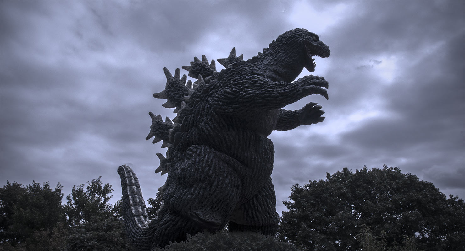 Godzilla 1962 Suit Not too bad for one of X-Plus