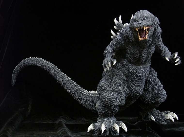 X-Plus Gigantic Series GMK Godzilla Vinyl Figure.