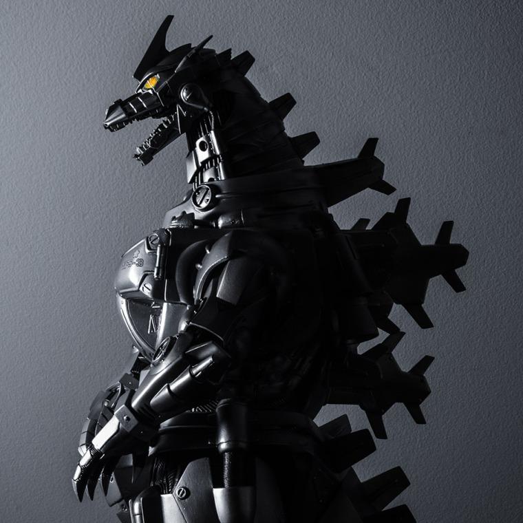 Kaiju Addicts - X-Plus Kiryu Vinyl Figure - Side Shadow.