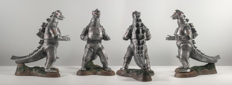 The X-Plus Mechagodzilla from all angles.