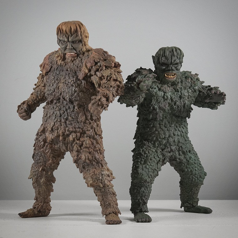 The X-Plus Sanda vs. Gaira Vinyl Figure set.