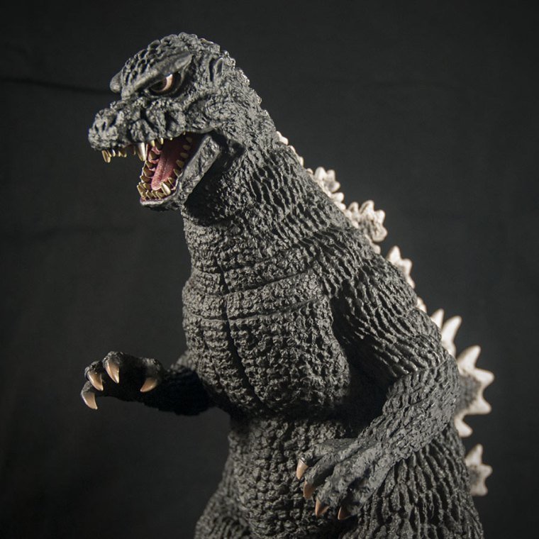 Toho 30cm Series Godzilla 1984. Photo by John Stanowski / Kaiju Addicts.