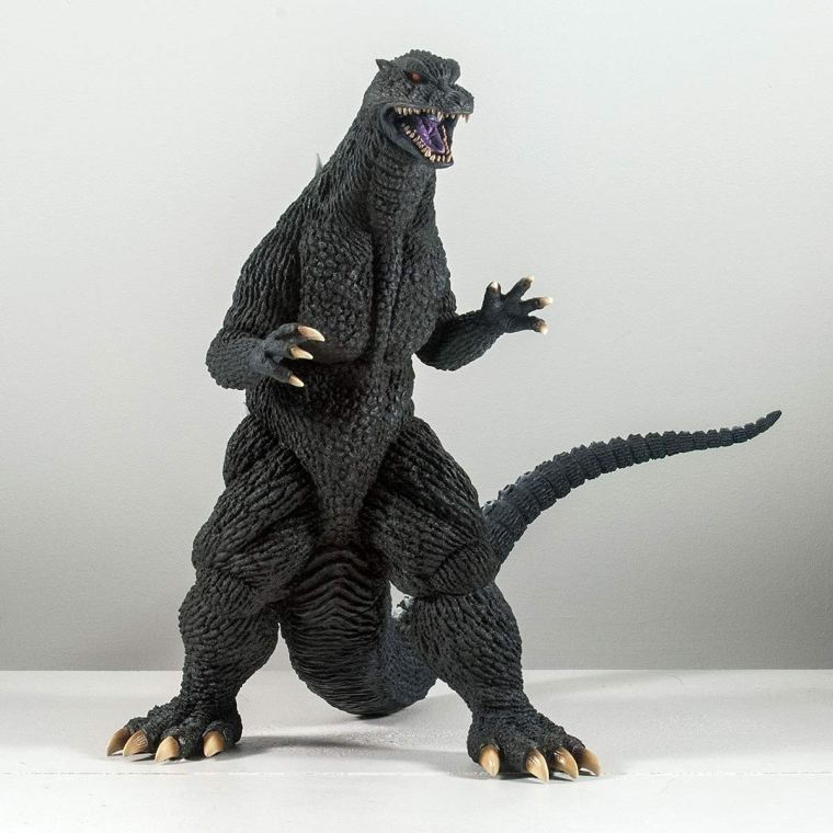 30cm Series Godzilla 2004. Photo by John Stanowski / Kaiju Addicts.