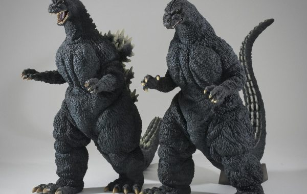30cm Series Yuji Sakai Godzilla 1989 and 1991 are getting reissued in the U.S. and Canada.
