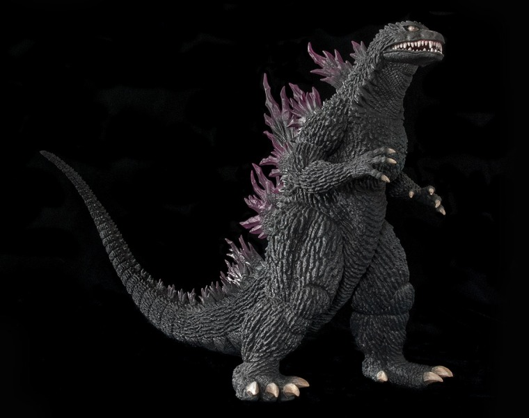 30cm Series Godzilla 1999. Photo by John Stanowski / Kaiju Addicts.