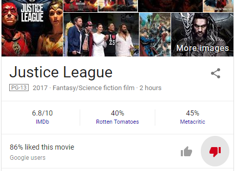 JusticeLeagueReviews